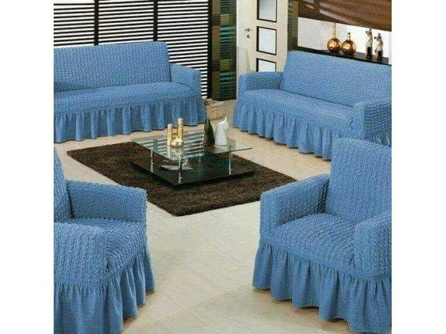 Living Room Sofa Cover - 1/5