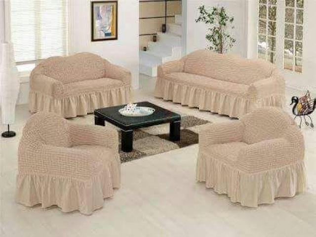 Living Room Sofa Cover - 3/5