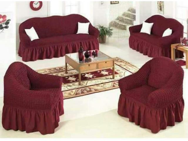 Living Room Sofa Cover - 4/5