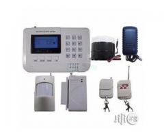 BURGLAR/INTRUDER  ALARM AND  SMS ALERT SECURITY SYSTEM