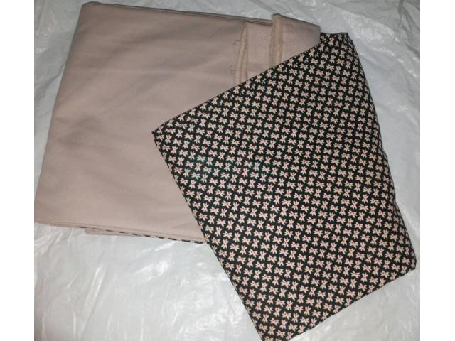 Vintage plain and pattern materials - 2/10