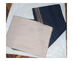 Vintage plain and pattern materials - Image 5/10