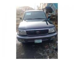 Registered 2002/2003 Toyota Land cruiser
