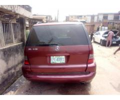 Registered 2002/2003 upgraded to 2005/2006 Benz ML320
