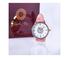 Quality leather wrist watches