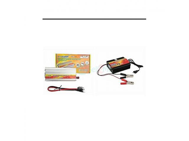 SUOER (2in1) 2000watts Inverter Anti-reverse Protection With 20amps External Charger - 1/1