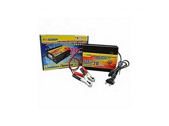 SUOER 20amp Car And Inverter Battery Charger - 1/1
