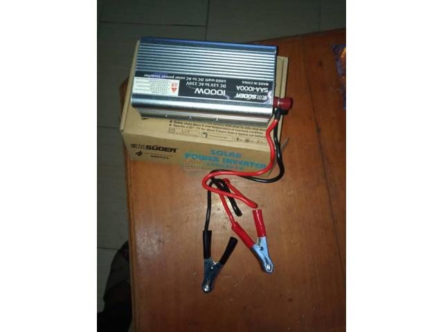 SUOER 1000watts Inverter 12volts With Battery Clip - 5/5