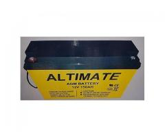 Altimate 150AH 12V AGM Inverter Battery (German Technology)