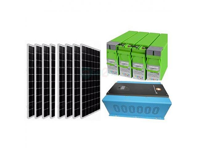 Power Star Complete 10kVA/48V Solar System Package with 800Ah Battery - 1/4