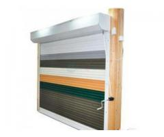Motorized Aluminium Roll Up Doors BY HIPHEN SOLUTIONS