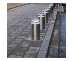 LED Light Full Automatic Retractable Bollards Remote Control Bollards BY HIPHEN SOLUTIONS