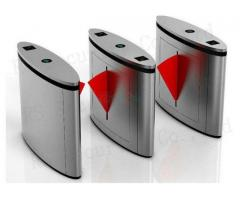 Brush Motor Controlled Access Flap Barrier Gate BY HIPHEN SOLUTIONS
