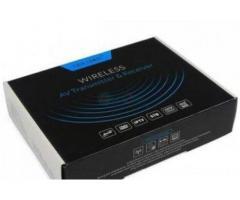 Sonic 2.4G Wireless AV Sender Transmitter & Receiver 150M, Silver BY HIPHEN SOLUTIONS
