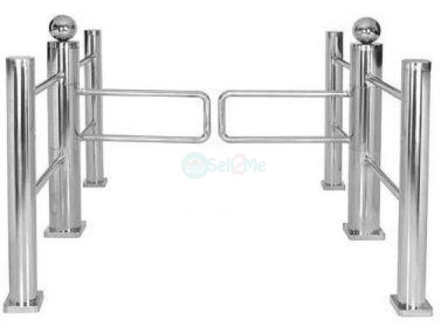 Auto Reset Swing Gate Security Turnstiles by HIPHEN SOLUTIONS - 1/1