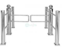 Auto Reset Swing Gate Security Turnstiles by HIPHEN SOLUTIONS