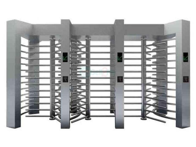Automatic Luxury Full Height Turnstile Gates For Parking Facilities BY HIPHEN SOLUTIONS - 1/1