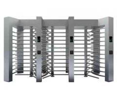 Automatic Luxury Full Height Turnstile Gates For Parking Facilities BY HIPHEN SOLUTIONS