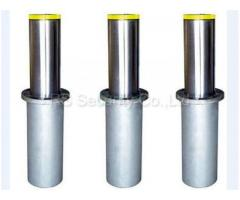 Manual Hydraulic Rising Bollards Stainless Steel Electrically Operated BY HIPHEN SOLUTIONS