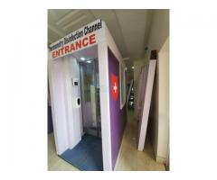 Disinfection Channel Booth with UV Spray in Nigeria by Hiphen Solutions