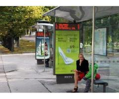 P6 Bus Station Advertising 1212×2440mm BY HIPHEN SOLUTIONS