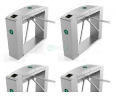 Waist Height Tripod Turnstile Access Control Gate - Set Of 4 BY HIPHEN SOLUTIONS
