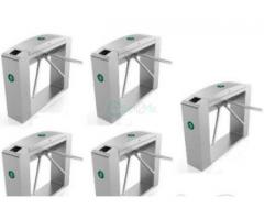 Waist Height Tripod Turnstile Access Control Gate - Set Of 5 BY HIPHEN SOLUTIONS