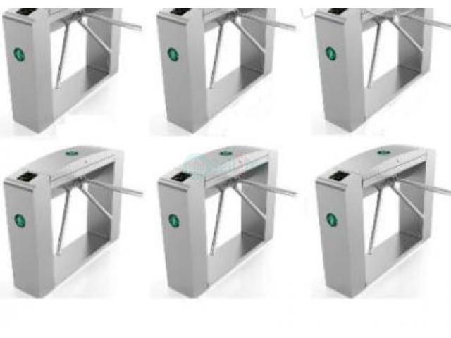 Waist Height Tripod Turnstile Access Control Gate - Set Of 6 BY HIPHEN SOLUTIONS - 1/1