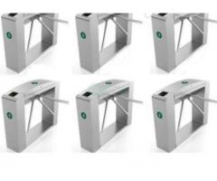 Waist Height Tripod Turnstile Access Control Gate - Set Of 6 BY HIPHEN SOLUTIONS