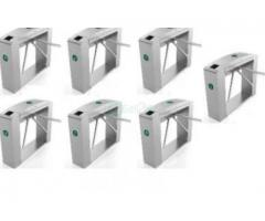 Waist Height Tripod Turnstile Access Control Gate - Set Of 7 BY HIPHEN SOLUTIONS