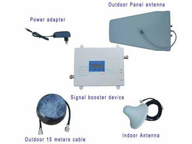2g 3g 4g Dual Band GSM 900 1800 Signal Booster BY HIPHEN SOLUTIONS - 1/1