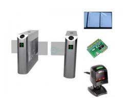 Swing Barrier Gate Bridge - Type Turnstiles With Remote Control Switch BY HIPHEN SOLUTIONS