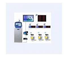 ,Hospital IR Touch Screen Thermal Ticket Dispenser Machine BY HIPHEN SOLUTIONS