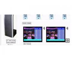 Bank,Hospital Wireless Queuing System Ticket Number Token Dispenser BY HIPHEN SOLUTIONS