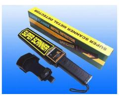 Portable Metal Detector Handheld Body Scanner BY HIPHEN SOLUTIONS